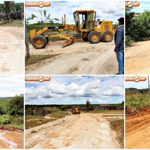 Prefeitura de Alegrete do Piauí investe no trabalho de recuperação de estradas vicinais