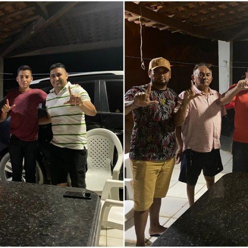 ALEGRETE | Dois pré-candidatos deixam oposição e aderem ao grupo do prefeito Márcio Alencar