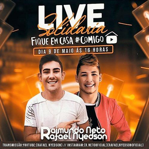 É HOJE | Raimundo Neto e Rafael Nyedson promovem live solidária para ajudar famílias em Alegrete