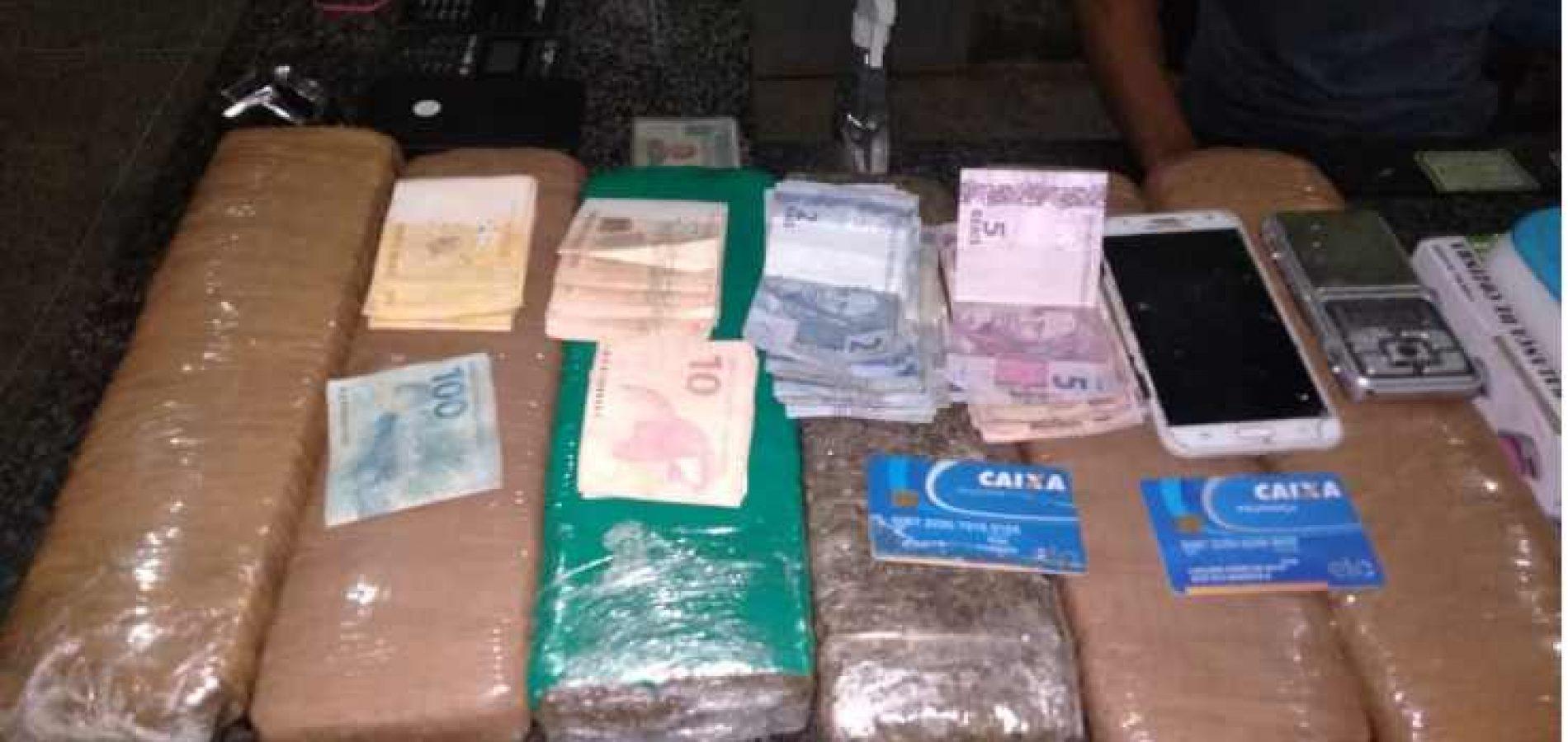 Polícia prende quadrilha que vendia drogas e atuava em 4 municípios do Piauí