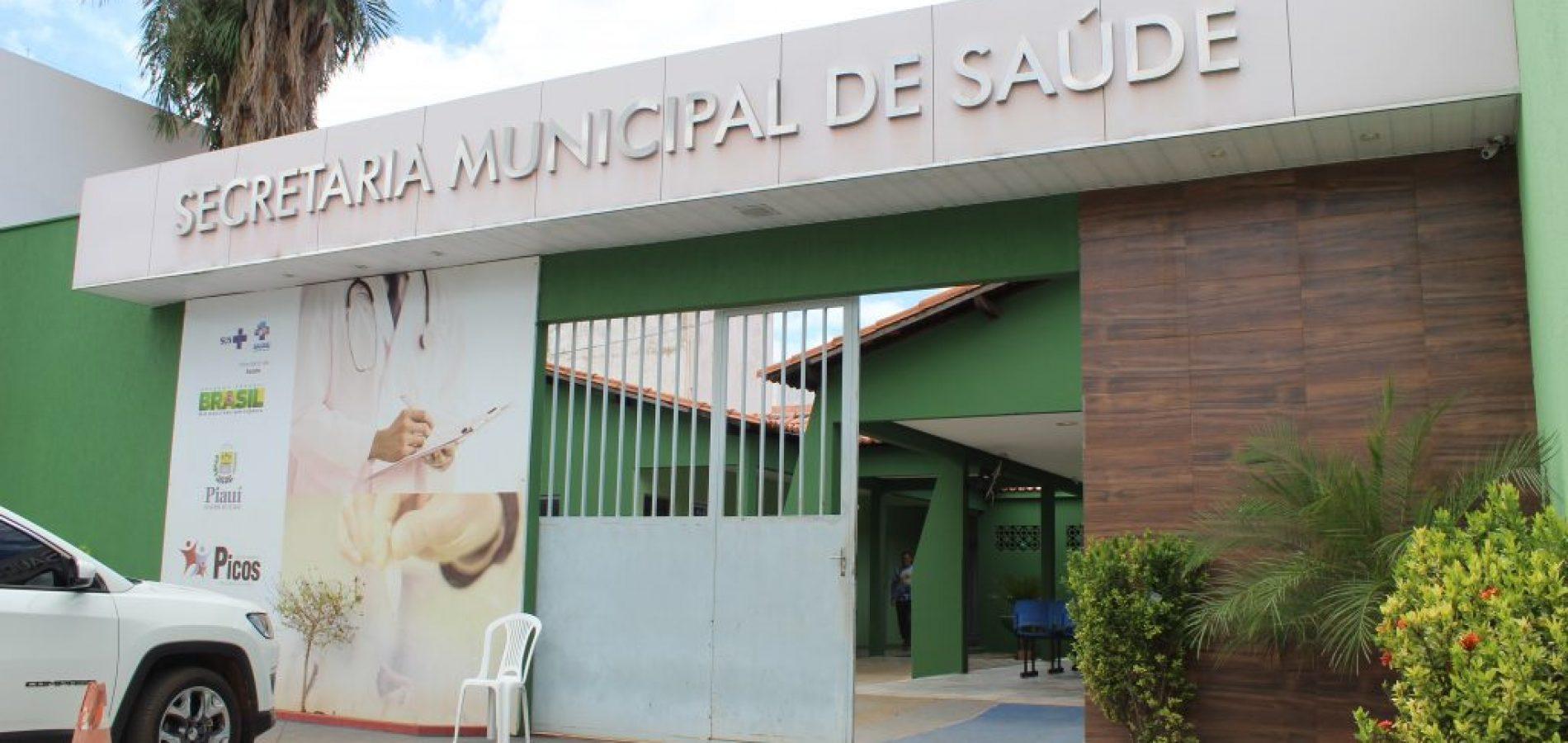 Saúde de Picos lança site para cadastro de vacinação contra a Covid-19