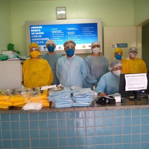 VERA MENDES | Secretaria de Saúde realiza testes do coronavírus em profissionais do município