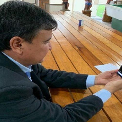 W. Dias se reúne com embaixadora do Canadá e pede apoio para compra de respiradores