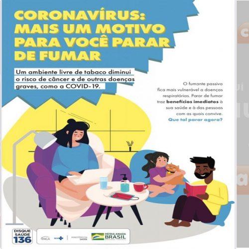 PICOS   No dia mundial sem tabaco, conheça as ações de Controle ao Tabagismo desenvolvidas pela SMS