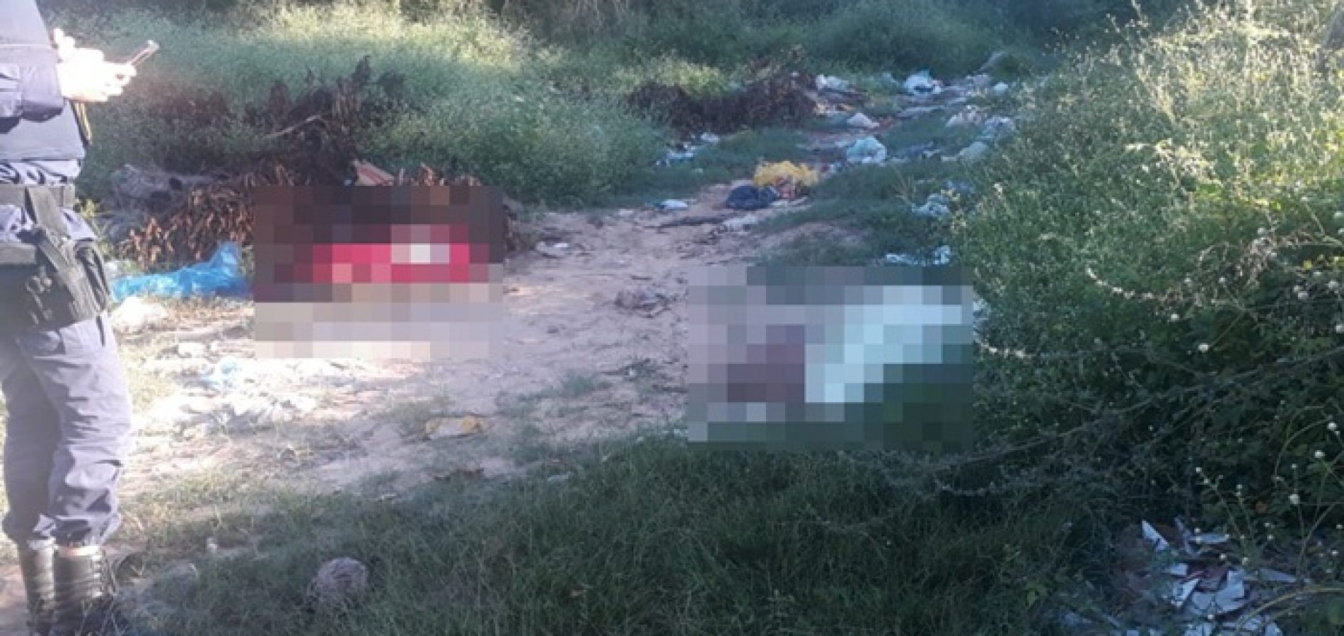 Dois corpos são encontrados sem cabeças em cidade do Piauí