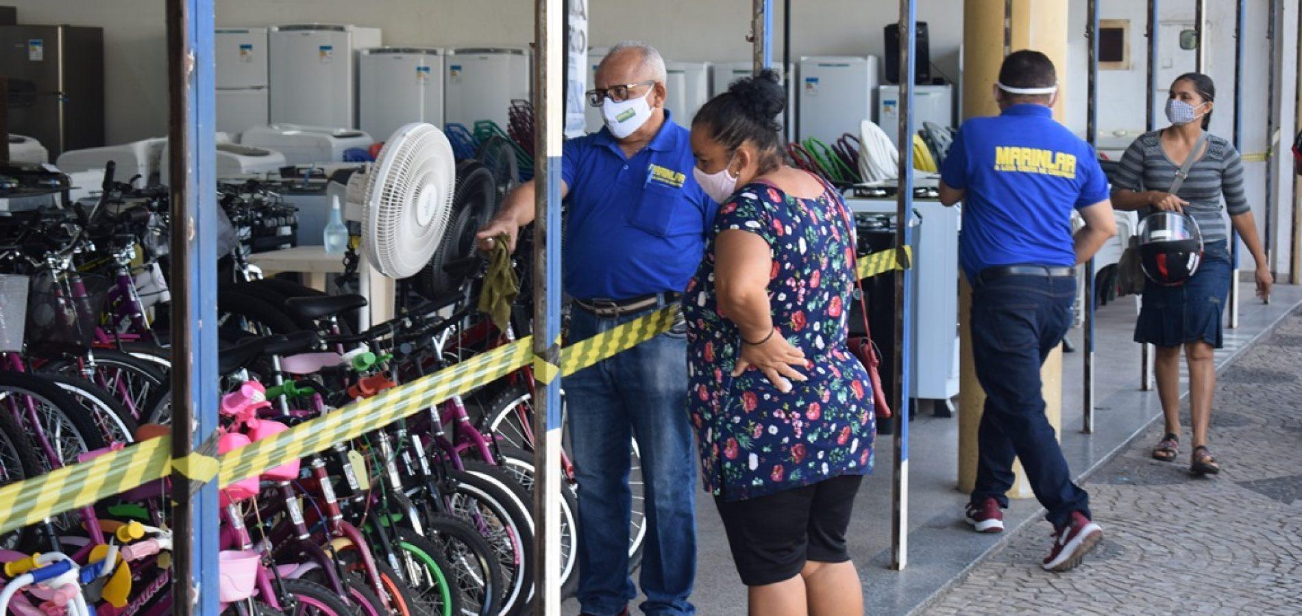Campo Maior anuncia fechamento do comércio após uma semana de reabertura