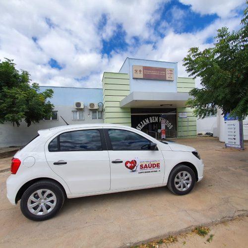 Prefeitura de Campo Grande do Piauí entrega novo veículo para a Secretaria de Saúde