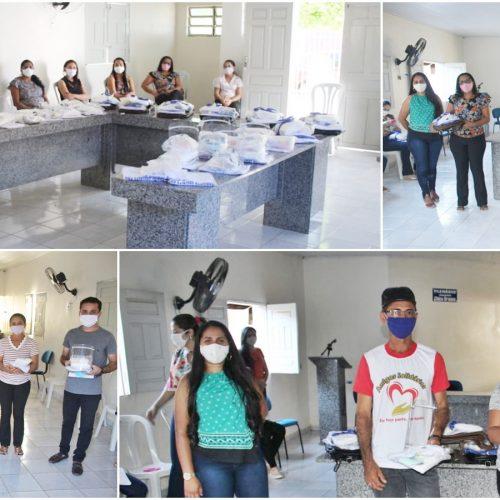 Prefeitura de Caridade entrega equipamentos de proteção para profissionais da Assistência Social