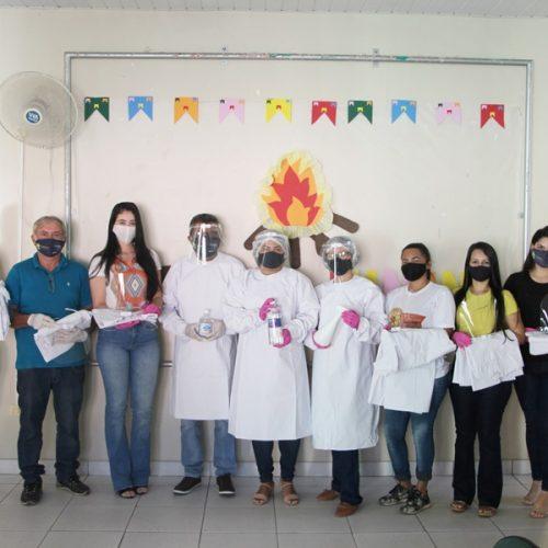Prefeitura de Jaicós faz entrega de EPIs a profissionais da Secretaria de Assistência Social