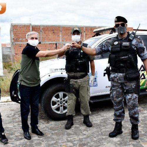 Polícia Militar de Monsenhor Hipólito recebe nova viatura e reforça segurança pública