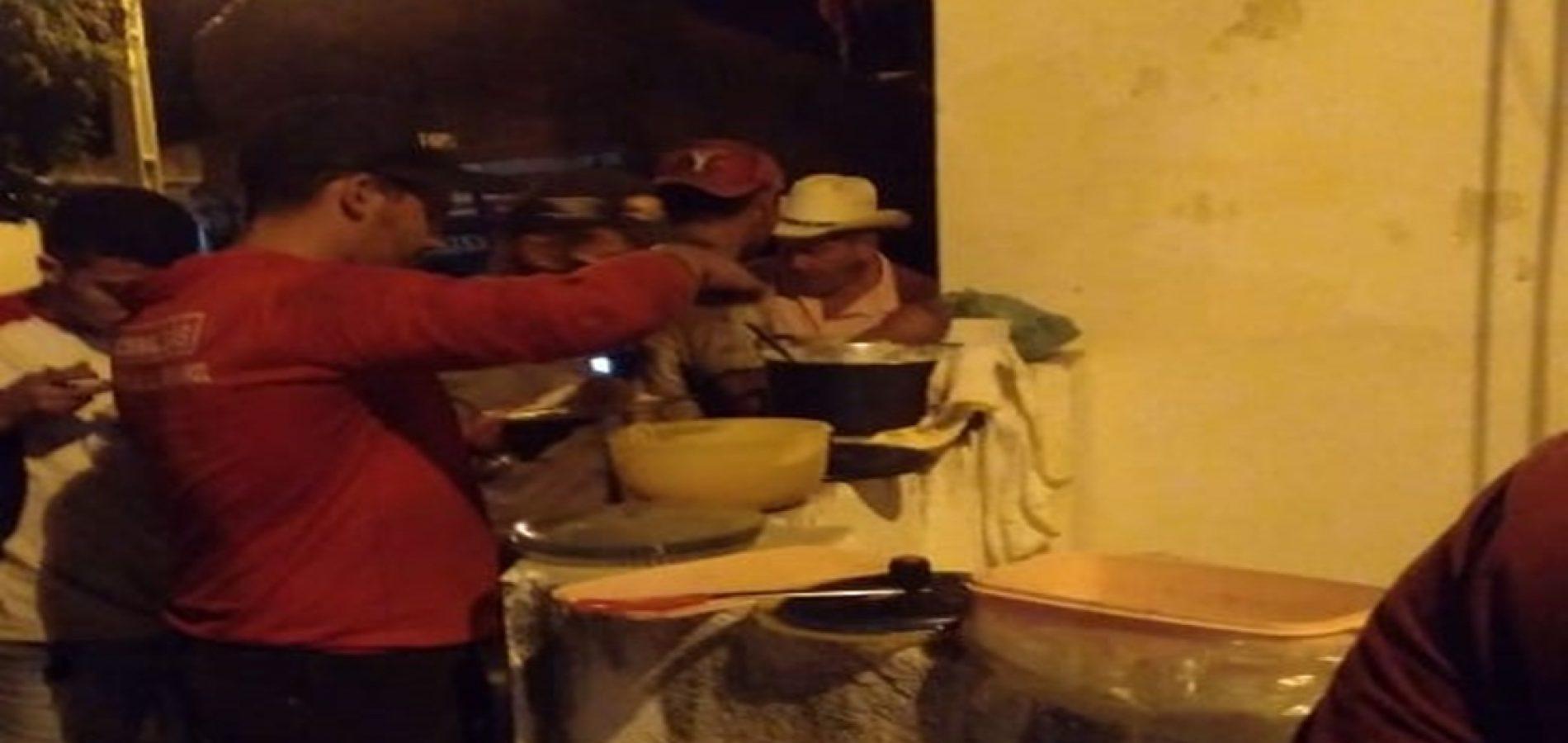 Em ação solidária, professora oferta jantar para caminhoneiros em Pio IX