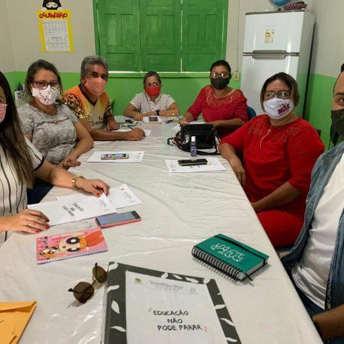 Educação de Geminiano discute elaboração do plano de ação para atividades escolares não presenciais