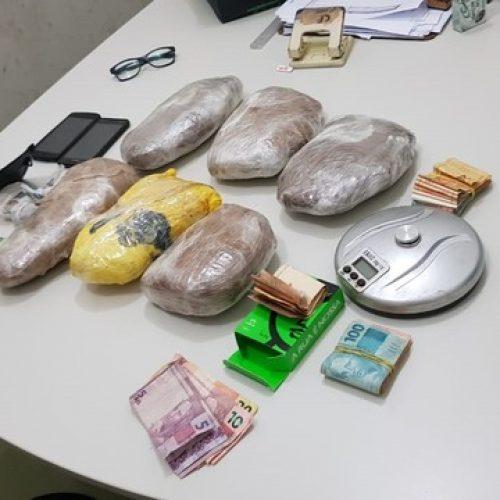 Suspeitos de tentar matar repórter de TV são presos com três quilos de skank no Sul Piauí