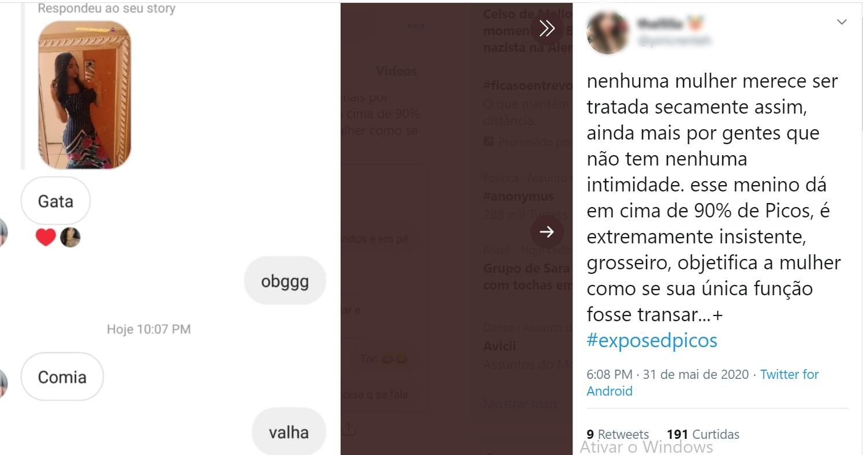 Estudantes expõem, no Twitter, assédio sexual de professores em Picos 3