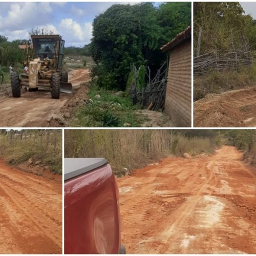 Prefeitura de Francisco segue em execução das obras de recuperação das estradas vicinais