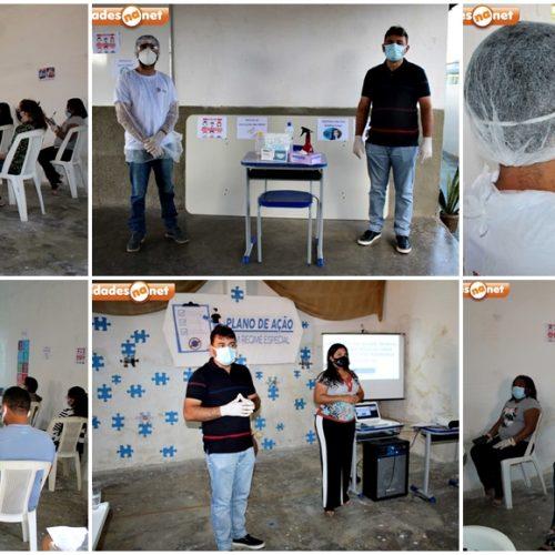 Educação de Francisco Macedo promove formação sobre reflexos da saúde mental em tempos de pandemia