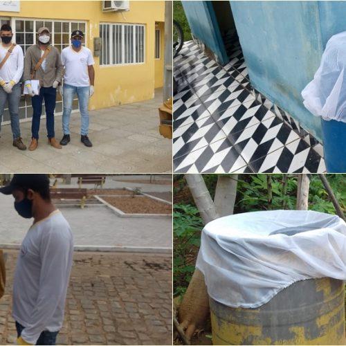 CURRAL NOVO | Secretaria de Saúde realiza ação de combate ao mosquito da dengue