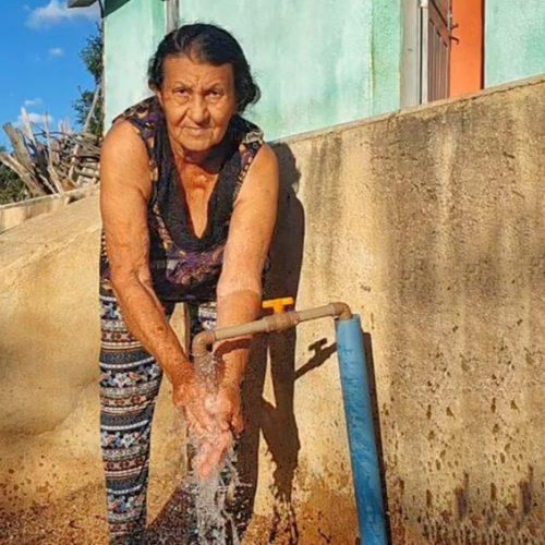 Água chega aos lares de 15 famílias e transforma vidas no interior de Massapê do Piauí