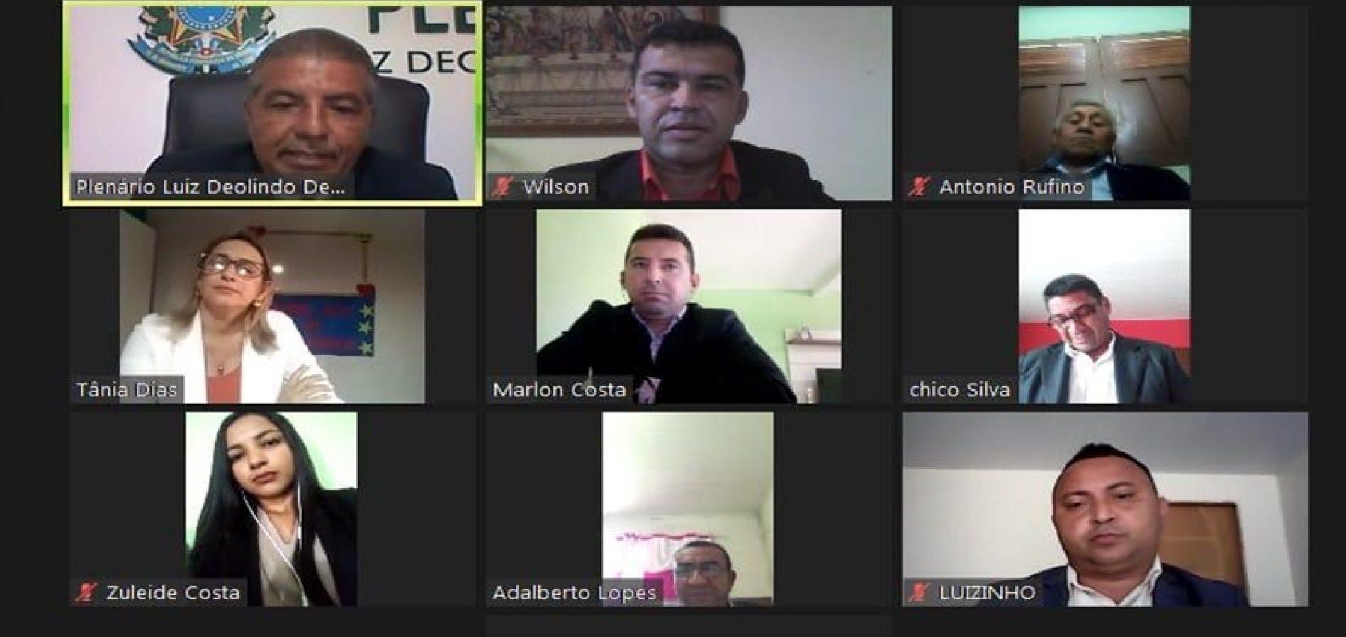 Em meio a pandemia, Câmara de Patos do Piauí realiza sessão ordinária virtual