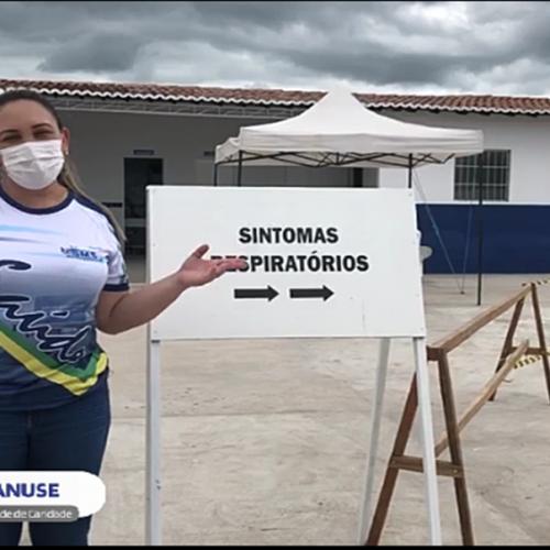 Secretaria de Saúde de Caridade do Piauí realiza Busca Ativa para covid-19