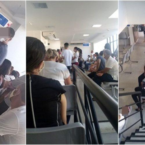 Usuários denunciam aglomeração em clínica particular no Piauí