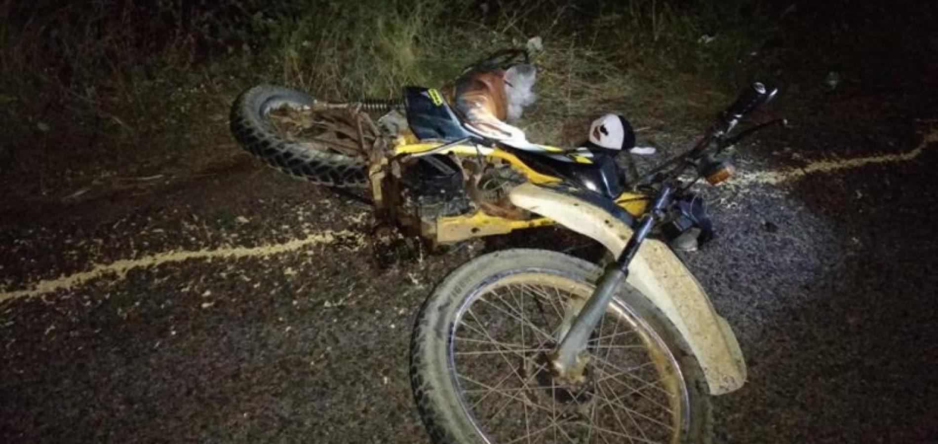 PATOS   Colisão entre carro e moto deixa homem gravemente ferido na BR 407