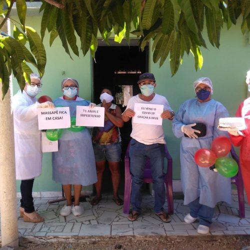 Em Massapê do Piauí, paciente de 71 anos vence a Covid-19