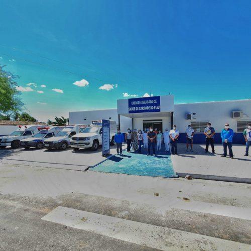 Centro de Saúde é reinaugurado após ampla reforma e qualifica serviços em Caridade do Piauí
