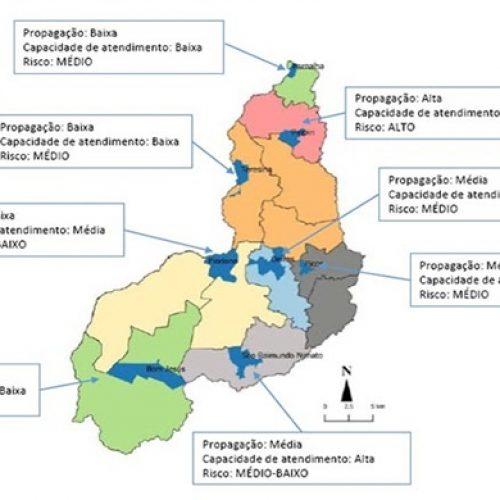 No Piauí, regiões com maior risco epidemiológico para contaminação da Covid-19 possuem menor capacidade de atendimento