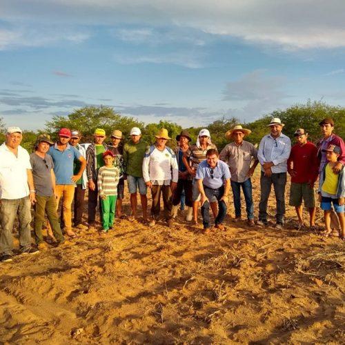 PAULISTANA   Produtores rurais da comunidade Abelha Branca produzem 16,5 toneladas de algodão orgânico