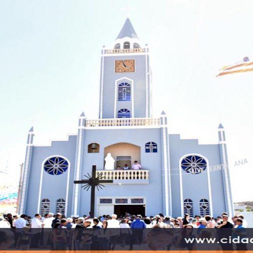 Paróquia de Monsenhor Hipólito divulga programação do 113º Festejo de Santa Ana. Veja!