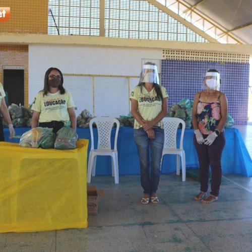 Educação de Belém do PI realiza mais uma distribuição da merenda escolar para alunos da Rede Municipal