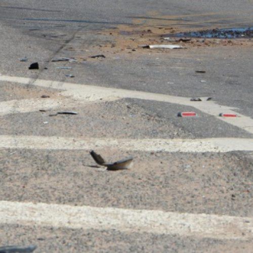Veículos se envolvem em colisão na BR-407, em Jaicós