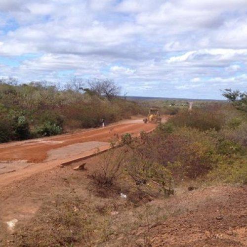 DER inicia recuperação da PI-238 entre Bocaina e São João da Canabrava