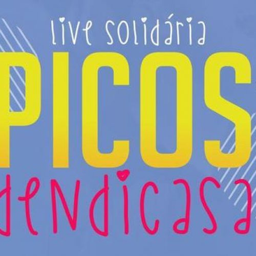 """Secretaria de Cultura divulga atrações do projeto """"Live Solidária: Picos Dendicasa"""""""