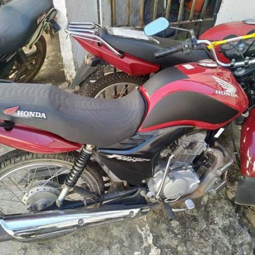 Força Tática de Paulistana recupera motocicleta roubada no Pernambuco