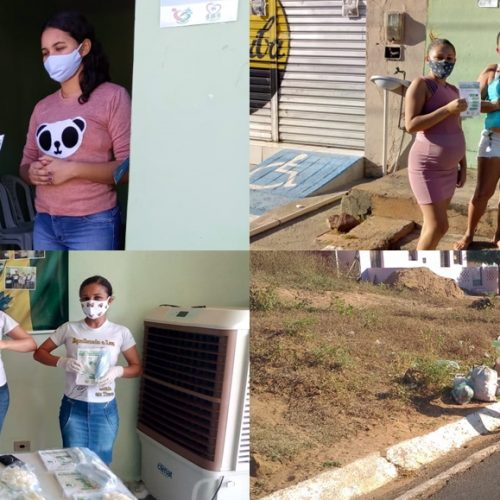Secretaria de Saúde de Vera Mendes realiza campanha de combate e prevenção ao mosquito AedesAegypti