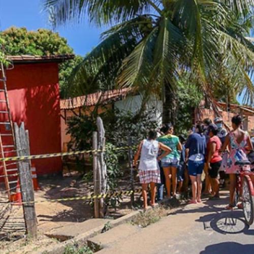 No Piauí, criança de 8 anos morre eletrocutada em cerca elétrica clandestina e pai se desespera