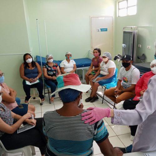 Saúde de Vera Mendes capacita profissionais sobre o uso das novas canetas de insulinas