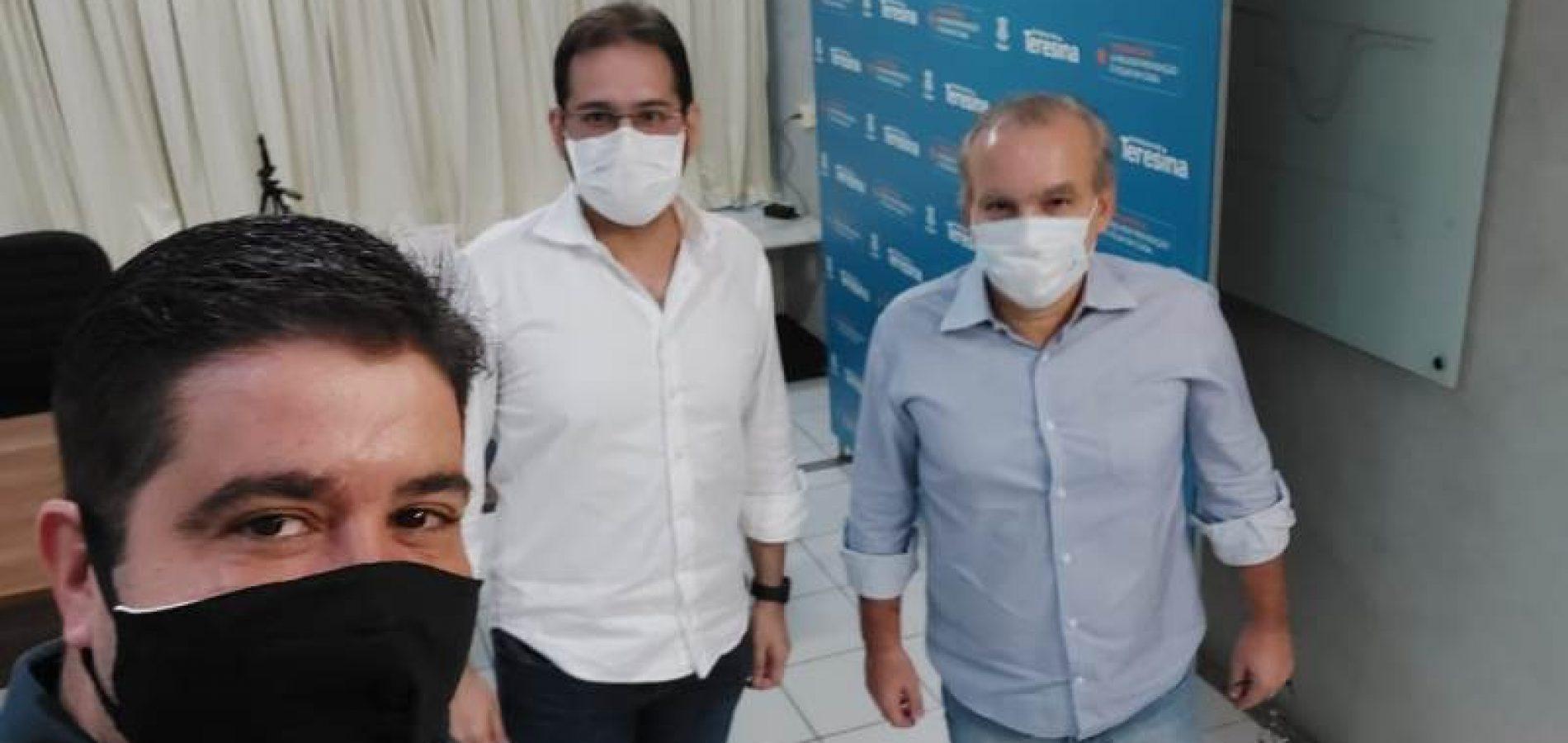 Firmino convida Daniel França para compor equipe de Kléber Montezuma