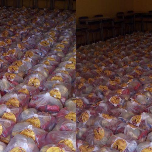 Curral Novo faz 2ª entrega da merenda escolar e distribui 1. 104 kits para estudantes