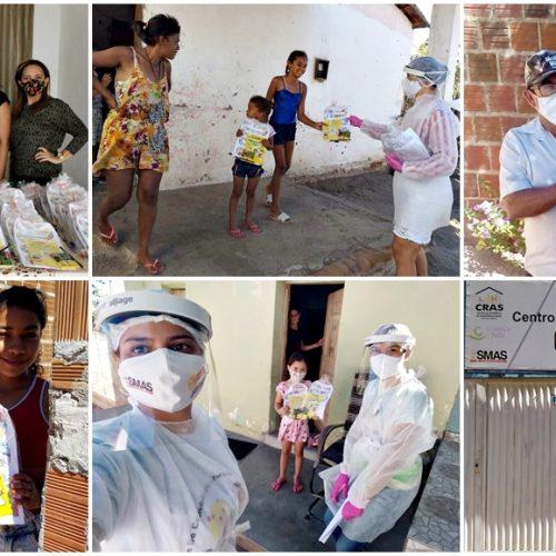 Assistência Social de Alagoinha mantém atividades educativas remotas para grupos do SCFV e PCF