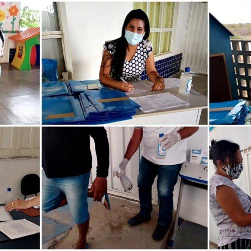 Educação de Francisco Macedo elabora plano e retoma aulas de forma domiciliar