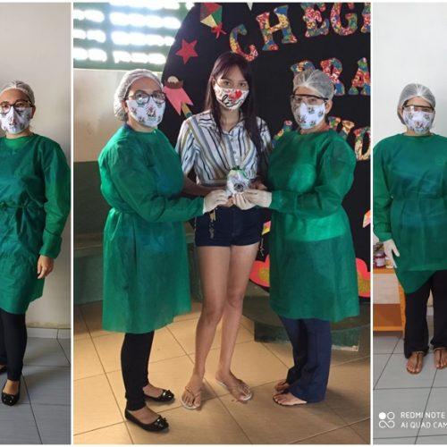 Assistência Social de Monsenhor Hipólito realiza ações educativas e distribui kits de higiene para integrantes do NUCA