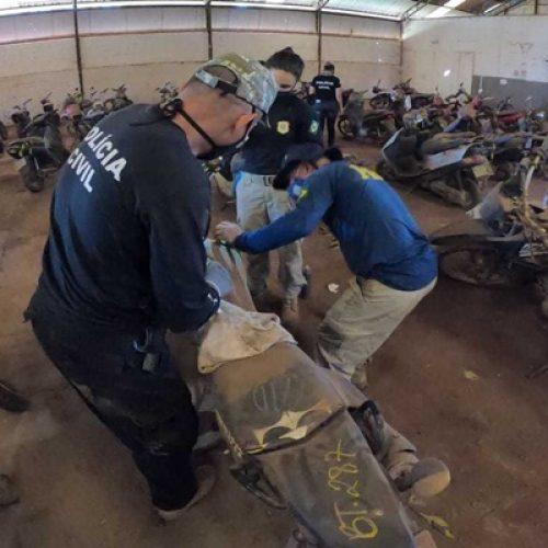 PRF identifica mais de 400 veículos com registro de roubo ou furto nos estados do Piauí e Maranhão