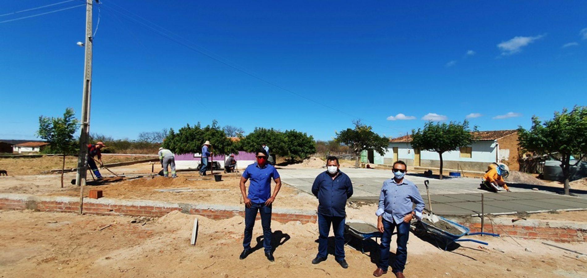 Prefeitura de Belém do Piauí inicia construção da Academia de Saúde no povoado Caboclo