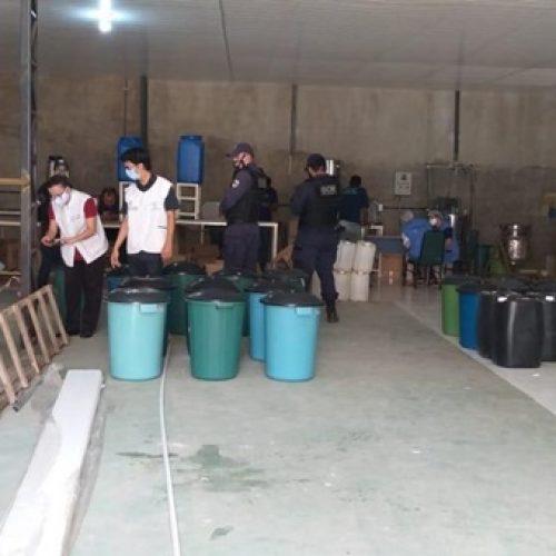 No Piauí, fábrica de cosméticos é interditada com produtos vencidos e higiene precária