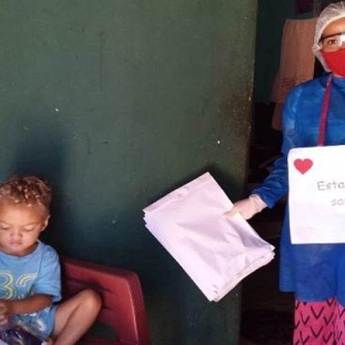 Equipe do Criança Feliz de Geminiano mantém ações de apoio à gestantes e crianças mesmo na pandemia