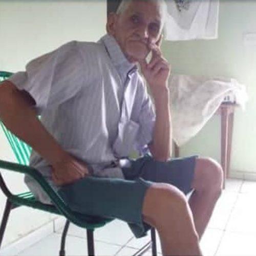 Família oferece recompensa para quem encontrar idoso desaparecido em Santo Antônio de Lisboa. Veja!