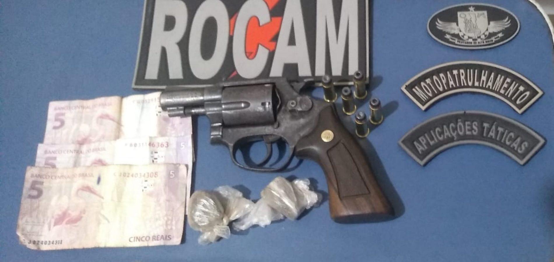 Em Picos, homem é preso por porte ilegal de arma de fogo após atirar contra outra pessoa